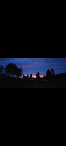 sunrise Pinantan Lake, BC