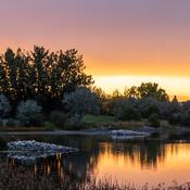 Sunset at Lake Stafford