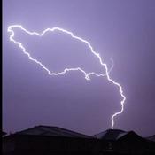 Storm over Edmonton