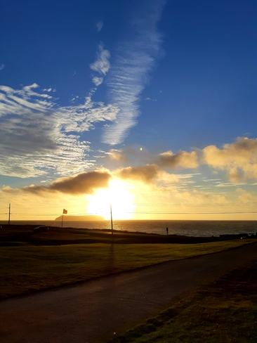 First sunset of Fall/2021 Mainland, NL