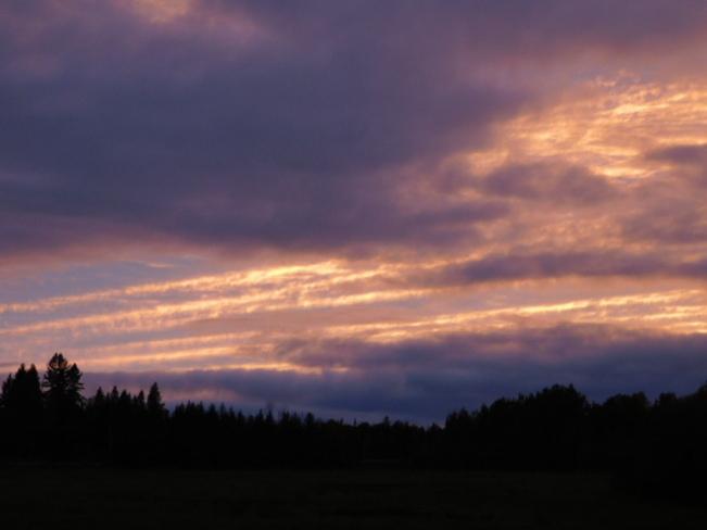 Sunset Englehart, ON