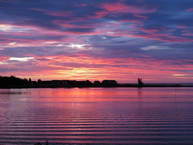 au lever de jour Tracadie-Sheila, NB