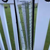 Heavy accumulated rainfall!