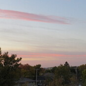 Pink and Mauve and +15 at dawn over Weyburn