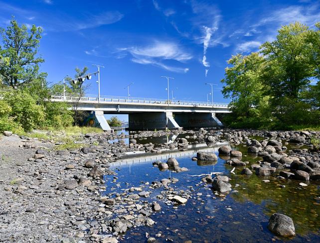 Rivière asséchée Gatineau, QC