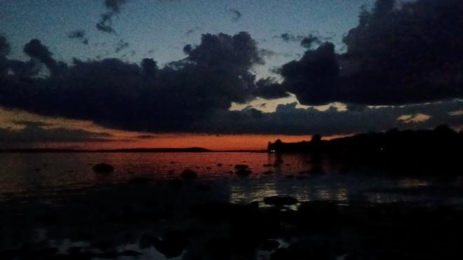 coucher soleil Saint-Placide, QC