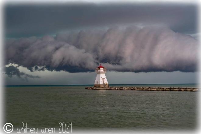 Dark clouds Southampton, Ontario   N0H 2L0