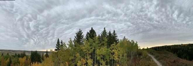 Cloud panorama Calgary, Alberta, CA