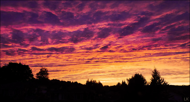 A sunset's sunset, Elliot Lake. Elliot Lake, ON