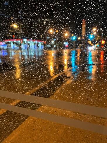 A rainy start Scarborough, Toronto, ON