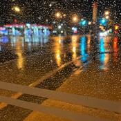 A rainy start