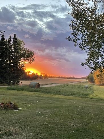 September Sunset Edmonton, Alberta, CA