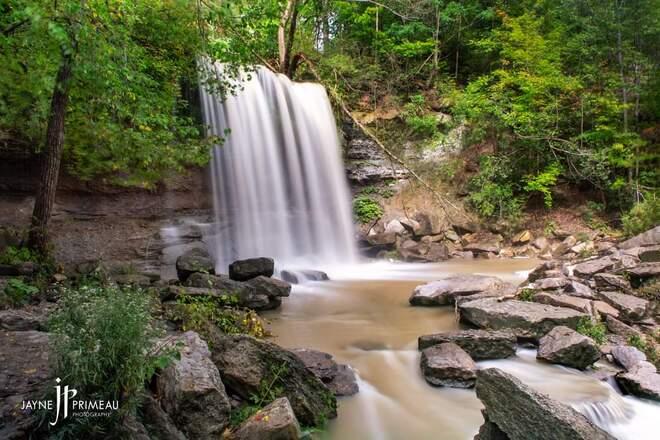 Rock Glen Waterfalls Arkona, ON