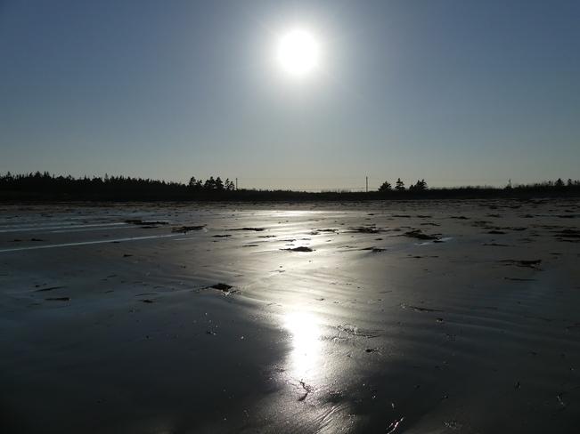 Beautiful afternoon Crow Neck Beach, Baccaro Road, Baccaro, Nova Scotia