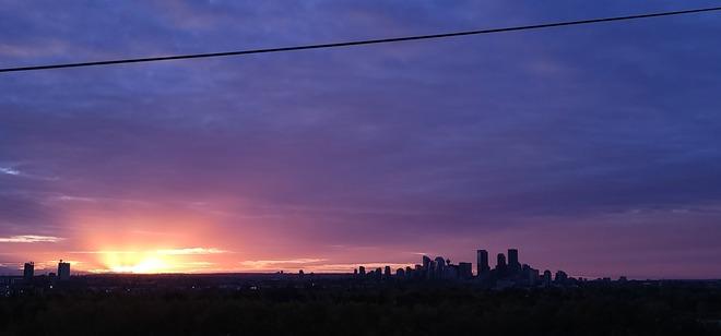 Calgary sunset Calgary, AB