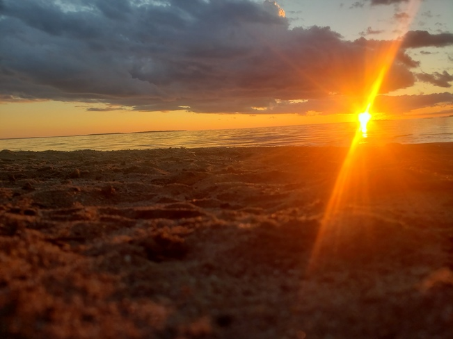lake nipissing sunset North Bay, ON