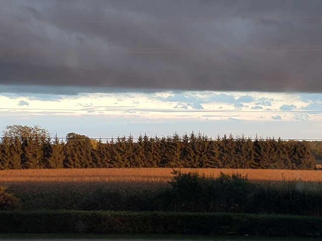 Beautiful September Fall Sunset Chantry, ON