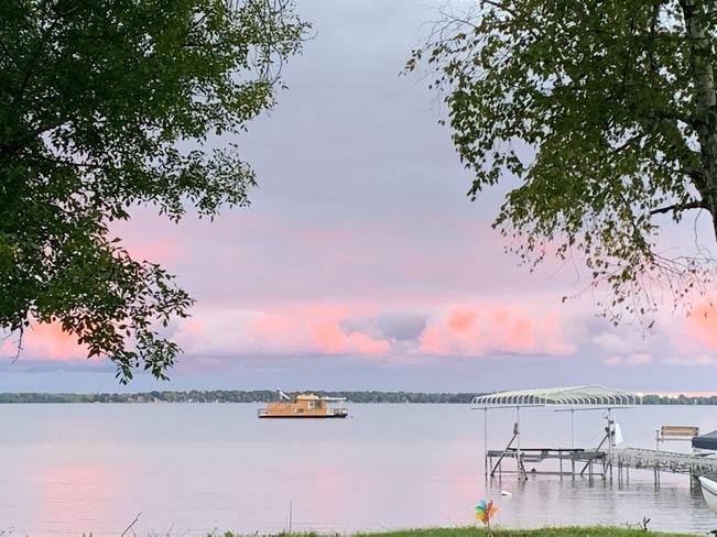 Early Autumn Sunset Lake Couchiching, ON