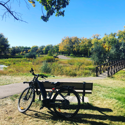 Great day for a bike ride! Medicine Hat, Alberta, CA