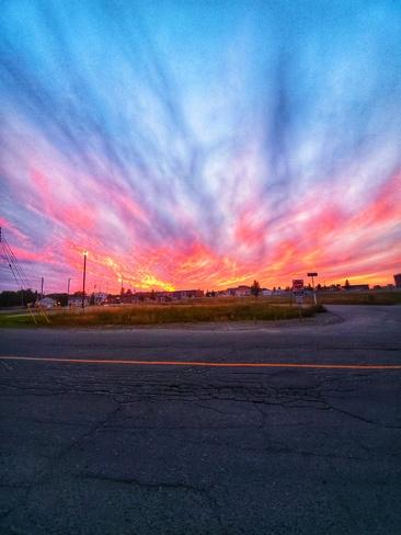The Sky is on Fire Kirkland Lake, ON
