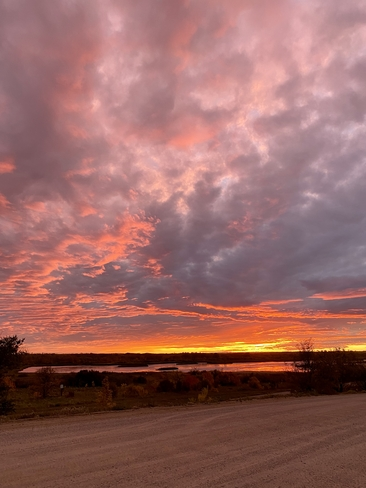 Mesmerizing sunset ! North Battleford, Saskatchewan, CA