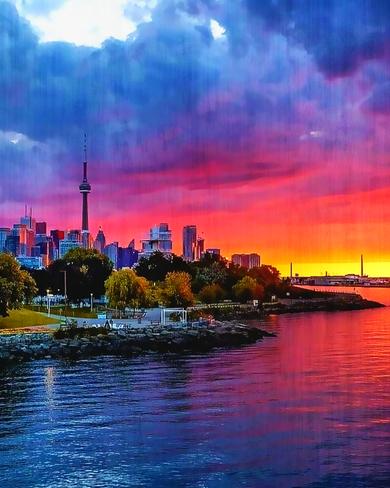 Sunrise in the City Toronto, ON