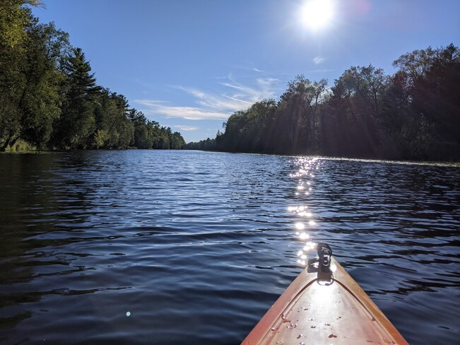 Kayaking on the Old Ausable Channel: Sept. 2021 Pinery Provincial Park, Lakeshore Road, Grand Bend, ON