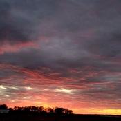 Beautiful Fall Sunset