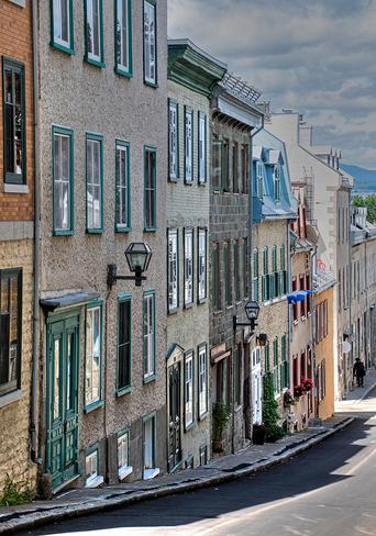 Rue Saint-Flavien Old Quebec, La Cité-Limoilou, Quebec City, QC