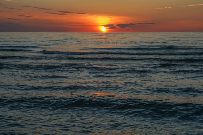 Sauble Beach Sunset Sauble beach, Sauble Beach, Ontario