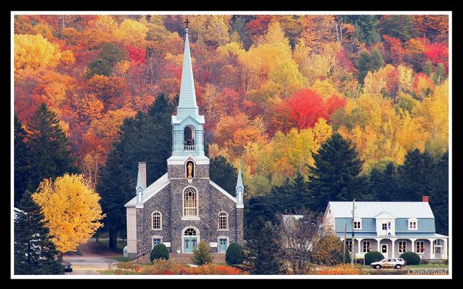 Église de Grandes Piles. Grandes-Piles, QC