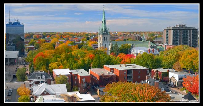 Trois-Rivières, centre-ville. Trois-Rivières, QC