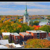 Trois-Rivières, centre-ville.