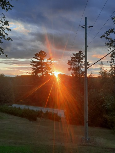 Plevna sunset , North Frontenac North Frontenac, ON