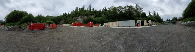 Transfer Station Hartley Bay, BC