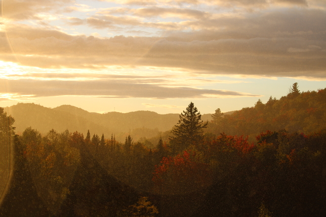 Coucher de soleil Morin-Heights, Québec, CA