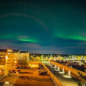 Northern Lights. But not very strong.