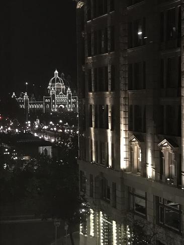 Parliament Building at Night Victoria, British Columbia, CA