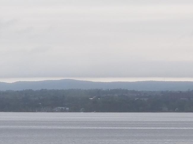 Cloudline over the Gatineau Hills Ottawa, ON