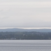 Cloudline over the Gatineau Hills