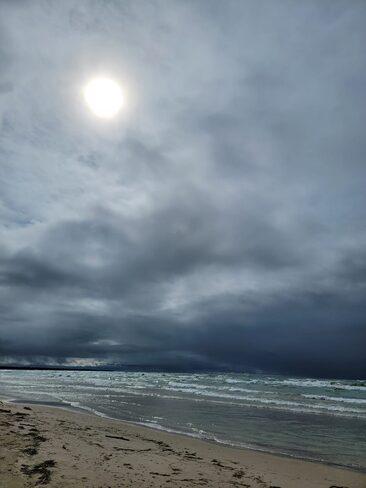 rainy day Sauble Beach Sauble Beach, ON