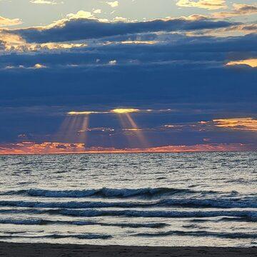 sunset Sauble Beach