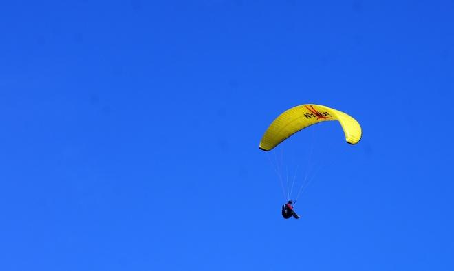 Para-Gliding Lumby, BC