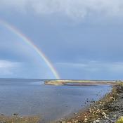 Rainbow over Boundary Bay