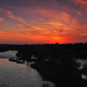 Sunset From Glen Morris Bridge