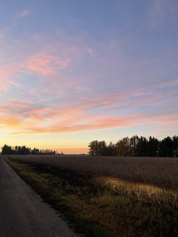 Pastel Sunrise Edmonton, Alberta, CA