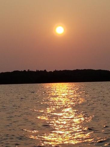 Horwood lake sun rise Foleyet, ON