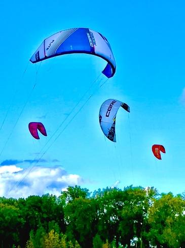 Kite Surfing Aylmer, Gatineau, QC