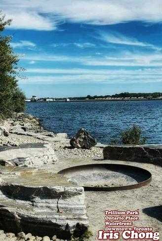 Sept 28 2021 Autumn - Beautiful day -Trillium Park Waterfront Downtown Toronto Trillium Park, ON