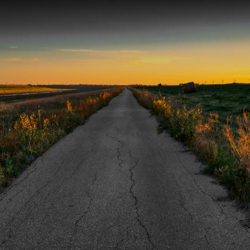 Pathway to horizon Lockport, Manitoba, CA